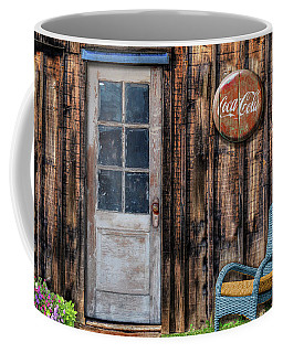 Coffee Mug featuring the photograph Coca Cola by Paul Wear