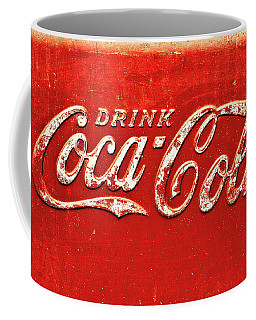 Coca Cola Rustic Coffee Mug