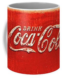 Coca Cola Rustic Coffee Mug
