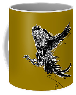 Cock Bw II Transparant Coffee Mug