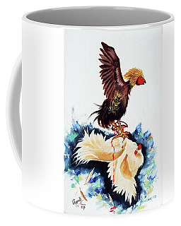 Cock Fighting Coffee Mug
