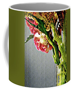Coffee Mug featuring the photograph Cockscomb Bouquet 5 by Sarah Loft