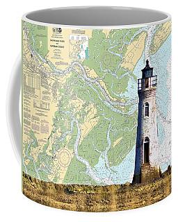 Cockspur On Navigation Chart Coffee Mug