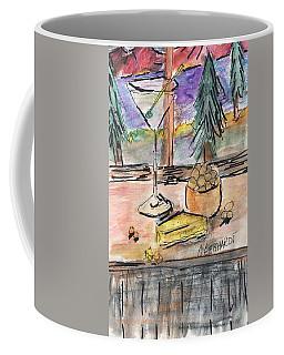 Cocktail At Tahoe  Coffee Mug