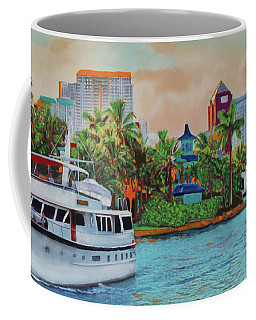 Cocktails On The New River Coffee Mug