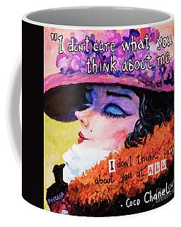 Coco Chanel Coffee Mug