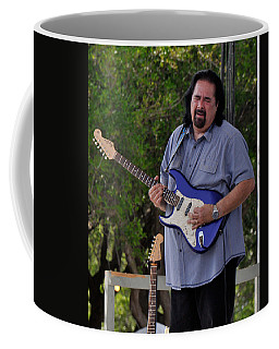 Coco Montoya And His Ocean Blue Fender American Standard Stratoc Coffee Mug