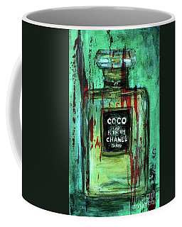 Coffee Mug featuring the painting Coco Potion by P J Lewis