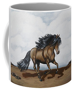 Coffee Mug featuring the painting Coco by Teresa Wing