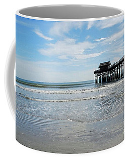 Coffee Mug featuring the photograph Cocoa Beach Florida by Gary Wonning