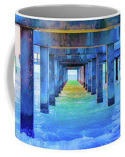 Cocoa Pier Coffee Mug