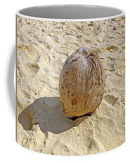 Coconut In The Sand Coffee Mug
