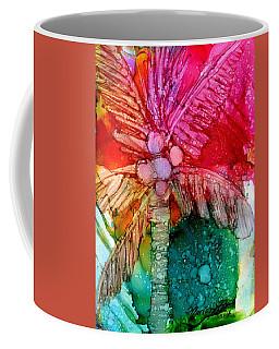 Coconut Palm Tree Coffee Mug by Marionette Taboniar