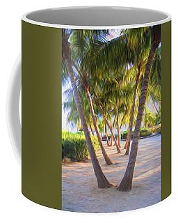 Coconut Palms Inn Beachfront Coffee Mug