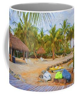 Coconut Palms Inn Beach Coffee Mug