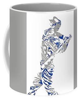 Cody Bellinger Los Angeles Dodgers Pixel Art 2 Coffee Mug
