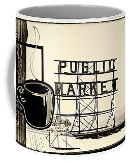 Coffee At The Market II Coffee Mug