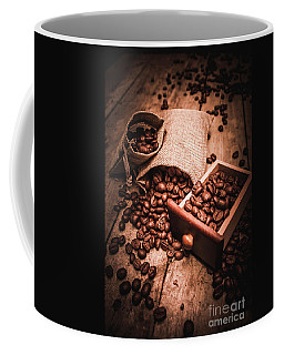 Coffee Bean Art Coffee Mug by Jorgo Photography - Wall Art Gallery