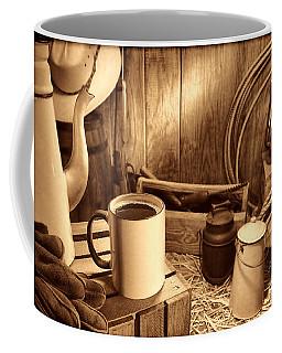 Coffee Break At The Chuck Wagon Coffee Mug