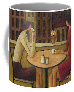Coffee Break Coffee Mug by Glenn Quist