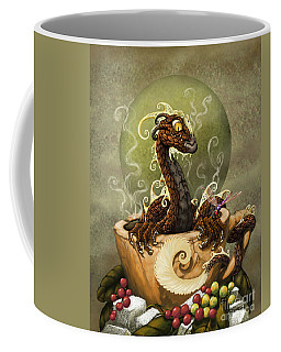 Coffee Dragon Coffee Mug by Stanley Morrison