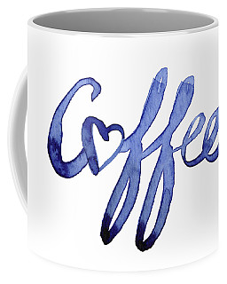Coffee Love Typography Coffee Mug