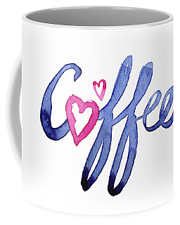 Coffee Lover Typography Coffee Mug