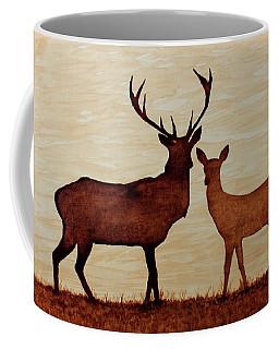 Coffee Painting Deer Love Coffee Mug