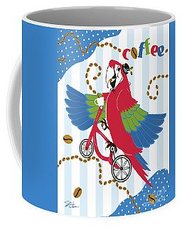 Coffee Parrot Coffee Mug
