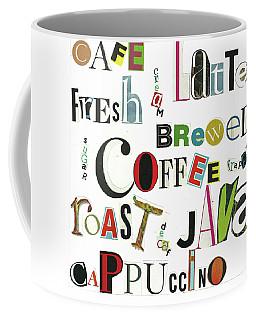 Coffee Ransom Art By Judy Salcedo Coffee Mug