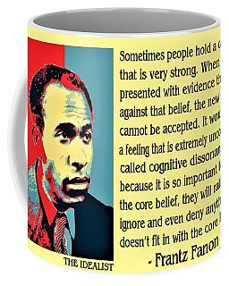 Cognitive Dissonance Frantz Fanon Coffee Mug