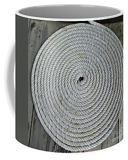 Coiled By D Hackett Coffee Mug by D Hackett