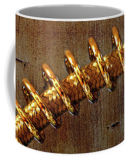 Coffee Mug featuring the photograph Coiled By Kaye Menner by Kaye Menner