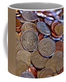 Coins In A Heap Coffee Mug