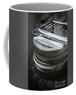Coins Of Silver Stacking Coffee Mug