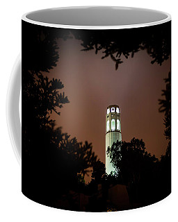 Coit Tower Through The Trees Coffee Mug