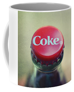 Coke Bottle Cap Square Coffee Mug by Terry DeLuco