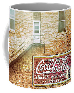 Coffee Mug featuring the photograph Coke Classic by Darren White