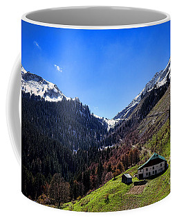 Col De La Colombiere Coffee Mug