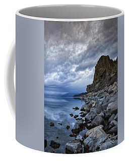 Cold Blue Cave Rock Coffee Mug