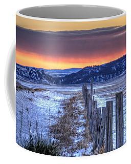 Cold Country Sunrise Coffee Mug