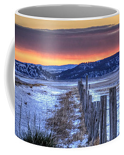 Cold Country Sunrise Coffee Mug
