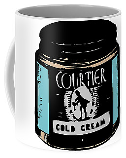 Coffee Mug featuring the digital art Cold Cream by ReInVintaged