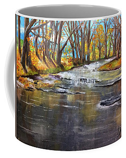 Cold Day At The Creek Coffee Mug