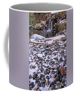 Coffee Mug featuring the photograph Cold Day At The Pond by Mick Anderson