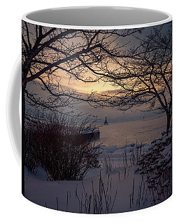 Cold Fingers Coffee Mug by James Meyer