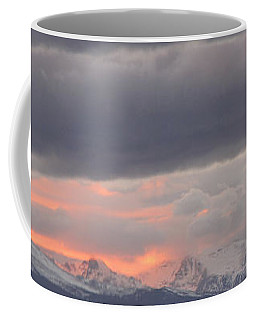 Coffee Mug featuring the photograph Cold Front by Eric Dee