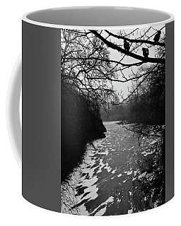 Coffee Mug featuring the photograph Cold by Inge Riis McDonald