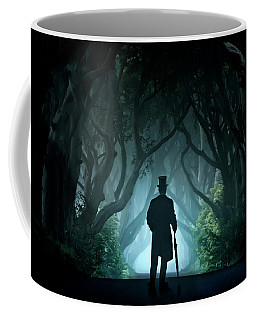 Cold Morning In Dark Hedges Coffee Mug