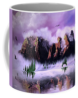 Cold Mountain Morning Coffee Mug